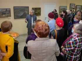 Открытие выставки заслуженного художника Республики Татарстан А.В. Крылова
