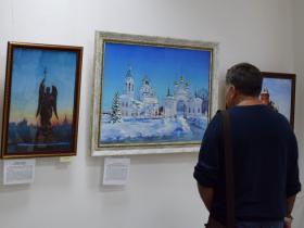 """Открытие выставки """"Красный город"""" (фото сделано до начала пандемии)"""
