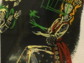"""А.С.Бакулевский - иллюстрация к книге Луиджи Капуана """"Сказки"""" (1991 г., бумага, гуашь)"""