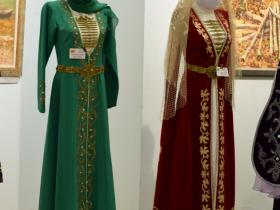 Чеченский костюм и осетинский костюм