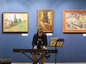 Репетиция в Национальной художественной галерее