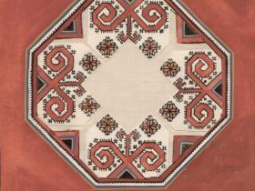 А. Г. Орлов - эскиз обложки конверта грампластинки (из собрания семьи Орловых)