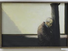 И. Ефимов — Память сердца (Боль ветерана) 1991 г., х., м.
