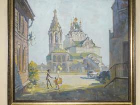 """Крылов А.В. - """"Солнечный день"""" (2014 г., холст, масло)"""
