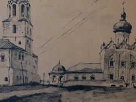 Мясников И.П. Свияжск. 1990 г.