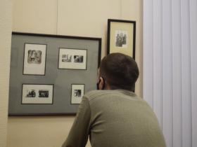 Открытие выставки А.С. Бакулевского