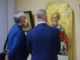 """Открытие выставки """"Безмолвная проповедь"""""""