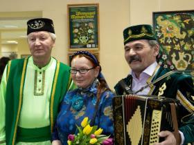 Открытие выставки мастера декоративно-прикладного искусства Земфиры Бикташевой