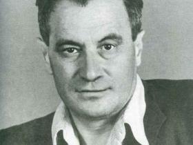 Писатель Валентин Катаев