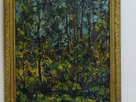 """С. Вишневский - """"Лето"""" (картон, масло, 2010 г.)"""