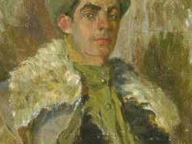 В. М. Козьмин - Автопортрет (1944 г.)