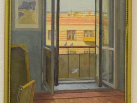 З.Ф. Лаврентьев — 6-й этаж. Мастерская (1974 г., к., м.)