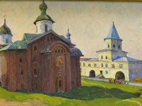 З.Ф. Лаврентьев — Господин Новгород (1975 г., к., м.)